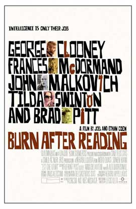 Burn After Reading - 11 x 17 Movie Poster - Style B