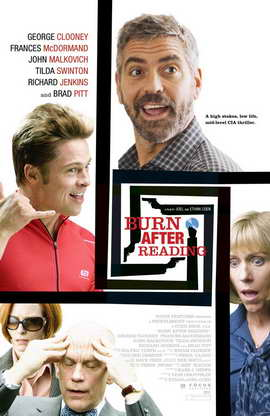 Burn After Reading - 11 x 17 Movie Poster - Style C