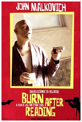 Burn After Reading - 11 x 17 Movie Poster - Style D
