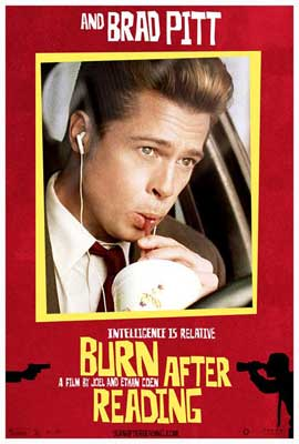 Burn After Reading - 11 x 17 Movie Poster - Style F