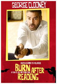 Burn After Reading - 11 x 17 Movie Poster - Style G