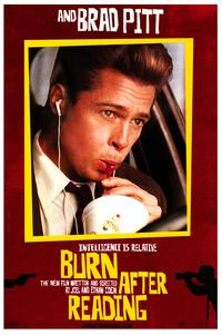 Burn After Reading - 43 x 62 Movie Poster - Bus Shelter Style B