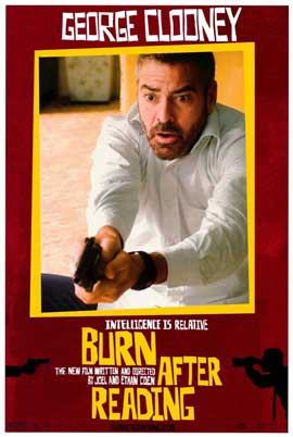 Burn After Reading - 11 x 17 Movie Poster - Style J