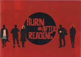 Burn After Reading - 27 x 40 Movie Poster - Style B