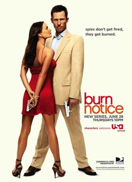 Burn Notice (TV) - 11 x 17 TV Poster - Style B
