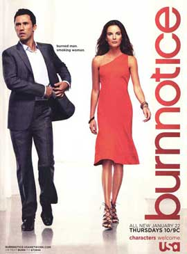 Burn Notice (TV) - 27 x 40 TV Poster - Style A