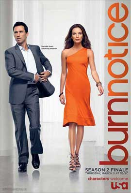 Burn Notice (TV) - 11 x 17 TV Poster - Style C