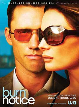 Burn Notice (TV) - 11 x 17 TV Poster - Style E