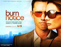 Burn Notice (TV) - 11 x 17 TV Poster - Style F