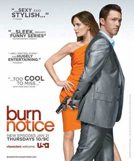 Burn Notice (TV) - 11 x 17 TV Poster - Style G