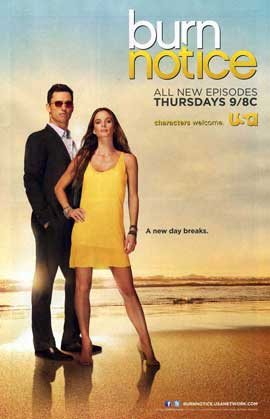 Burn Notice (TV) - 11 x 17 TV Poster - Style H
