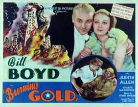 Burning Gold - 11 x 14 Movie Poster - Style A
