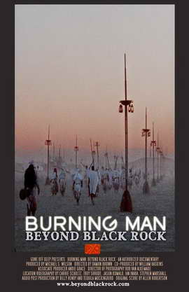 Burning Man: Beyond Black Rock - 11 x 17 Movie Poster - Style B