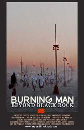 Burning Man: Beyond Black Rock - 27 x 40 Movie Poster - Style B