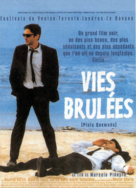 Burning Money - 11 x 17 Movie Poster - French Style A