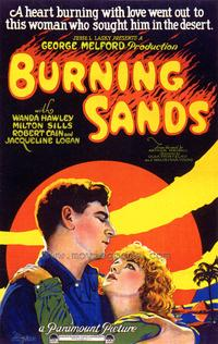 Burning Sands - 43 x 62 Movie Poster - Bus Shelter Style A