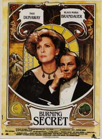 Burning Secret - 11 x 17 Movie Poster - Style A