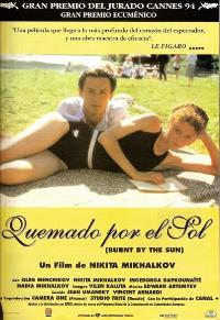 Burnt by the Sun - 11 x 17 Movie Poster - Spanish Style A