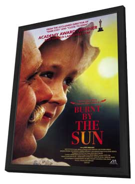 Burnt by the Sun - 11 x 17 Movie Poster - Style A - in Deluxe Wood Frame