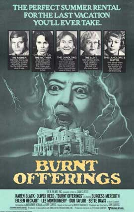 Burnt Offerings - 11 x 17 Movie Poster - Style B