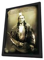 Bury My Heart at Wounded Knee - 11 x 17 Movie Poster - Style E - in Deluxe Wood Frame