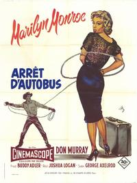 Bus Stop - 47 x 62 Movie Poster - French Style A