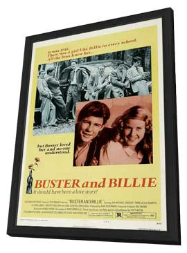 Buster and Billie - 11 x 17 Movie Poster - Style B - in Deluxe Wood Frame