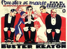 Buster se marie - 11 x 17 Movie Poster - French Style A