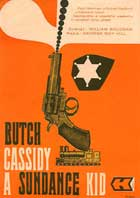 Butch Cassidy and the Sundance Kid - 11 x 17 Movie Poster - Czchecoslovakian Style A