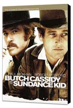 Butch Cassidy and the Sundance Kid - 11 x 17 Movie Poster - Style H - Museum Wrapped Canvas