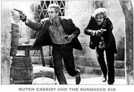Butch Cassidy and the Sundance Kid - 11 x 17 Movie Poster - Style B