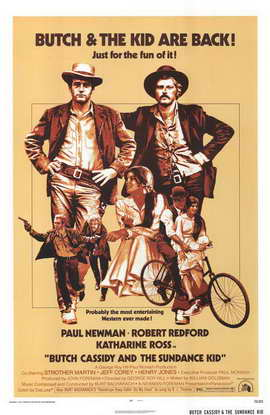 Butch Cassidy and the Sundance Kid - 11 x 17 Movie Poster - Style F