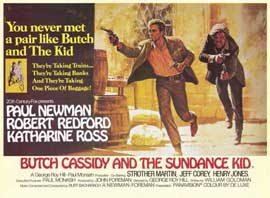 Butch Cassidy and the Sundance Kid - 11 x 14 Movie Poster - Style I