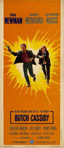 Butch Cassidy and the Sundance Kid - 11 x 17 Movie Poster - Style E