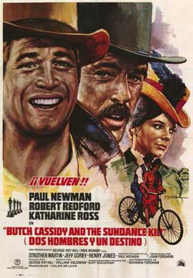 Butch Cassidy and the Sundance Kid - 11 x 17 Movie Poster - Italian Style A