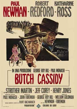 Butch Cassidy and the Sundance Kid - 11 x 17 Movie Poster - Italian Style B