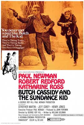 Butch Cassidy and the Sundance Kid - 27 x 40 Movie Poster - Style A