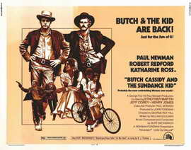 Butch Cassidy and the Sundance Kid - 22 x 28 Movie Poster - Half Sheet Style A
