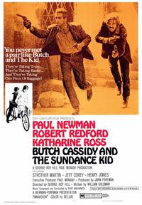 Butch Cassidy and the Sundance Kid - 43 x 62 Movie Poster - Bus Shelter Style A