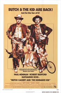 Butch Cassidy and the Sundance Kid - 43 x 62 Movie Poster - Bus Shelter Style B