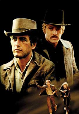 Butch Cassidy and the Sundance Kid - 11 x 17 Movie Poster - Style G