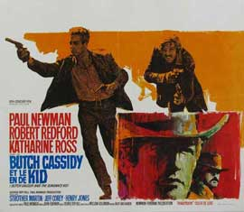 Butch Cassidy and the Sundance Kid - 11 x 14 Poster - Belgian Style A