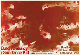 Butch Cassidy and the Sundance Kid - 27 x 40 Movie Poster - Polish Style A