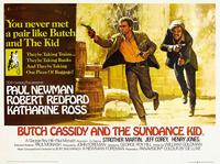 Butch Cassidy and the Sundance Kid - 11 x 17 Movie Poster - UK Style A