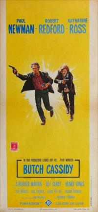 Butch Cassidy and the Sundance Kid - 13 x 28 Movie Poster - Italian Style A