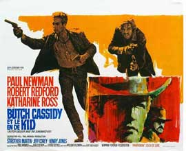 Butch Cassidy and the Sundance Kid - 27 x 40 Movie Poster - Belgian Style A