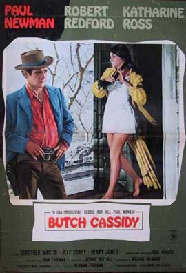 Butch Cassidy and the Sundance Kid - 11 x 17 Movie Poster - Italian Style D