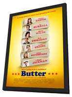 Butter - 11 x 17 Movie Poster - Style A - in Deluxe Wood Frame