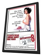 Butterfield 8 - 27 x 40 Movie Poster - Style A - in Deluxe Wood Frame