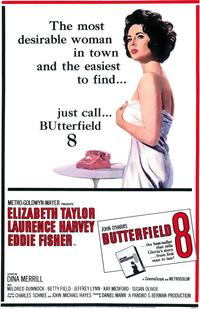 Butterfield 8 - 43 x 62 Movie Poster - Bus Shelter Style A
